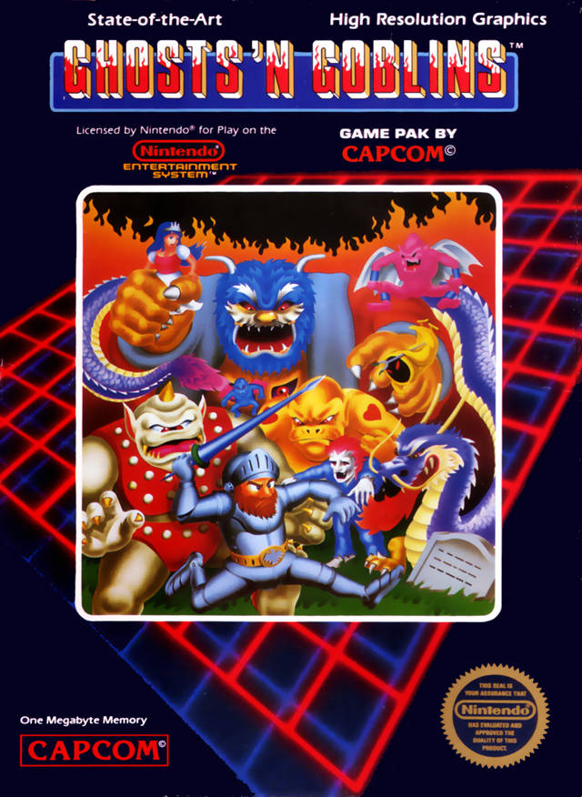 Image result for ghosts n goblins