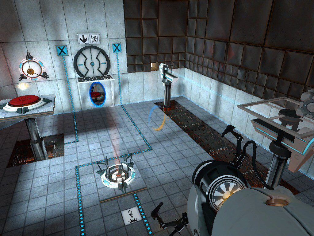 Portal 2 ps3 review brutal gamer for 3 portals