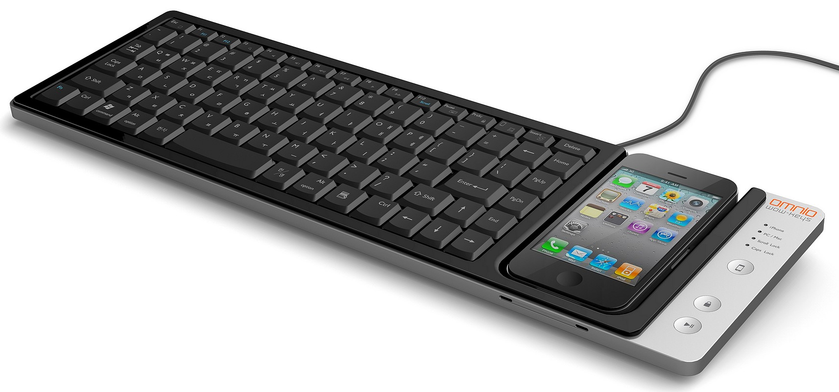 WOW-Keys - клавиатура стандартного размера для ввода текста в iPhone