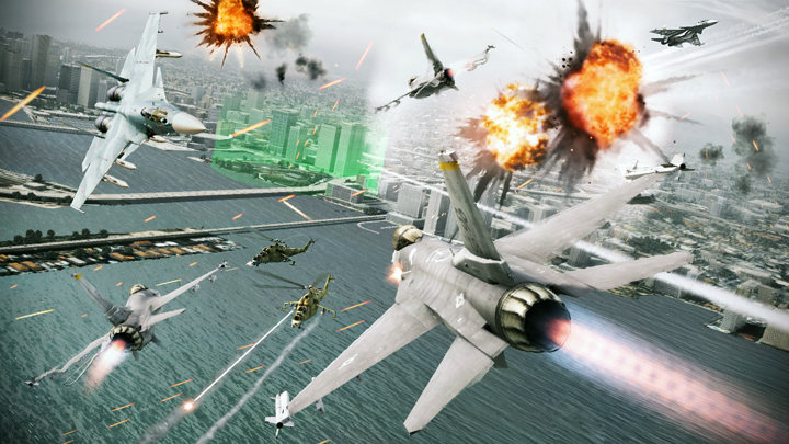 Namco wants Ace Combat to be the CoD of the air combat genre