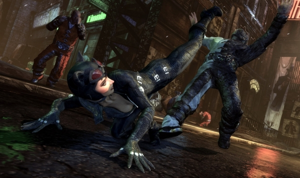 GameStop plans to give Catwoman codes to used Batman: Arkham City