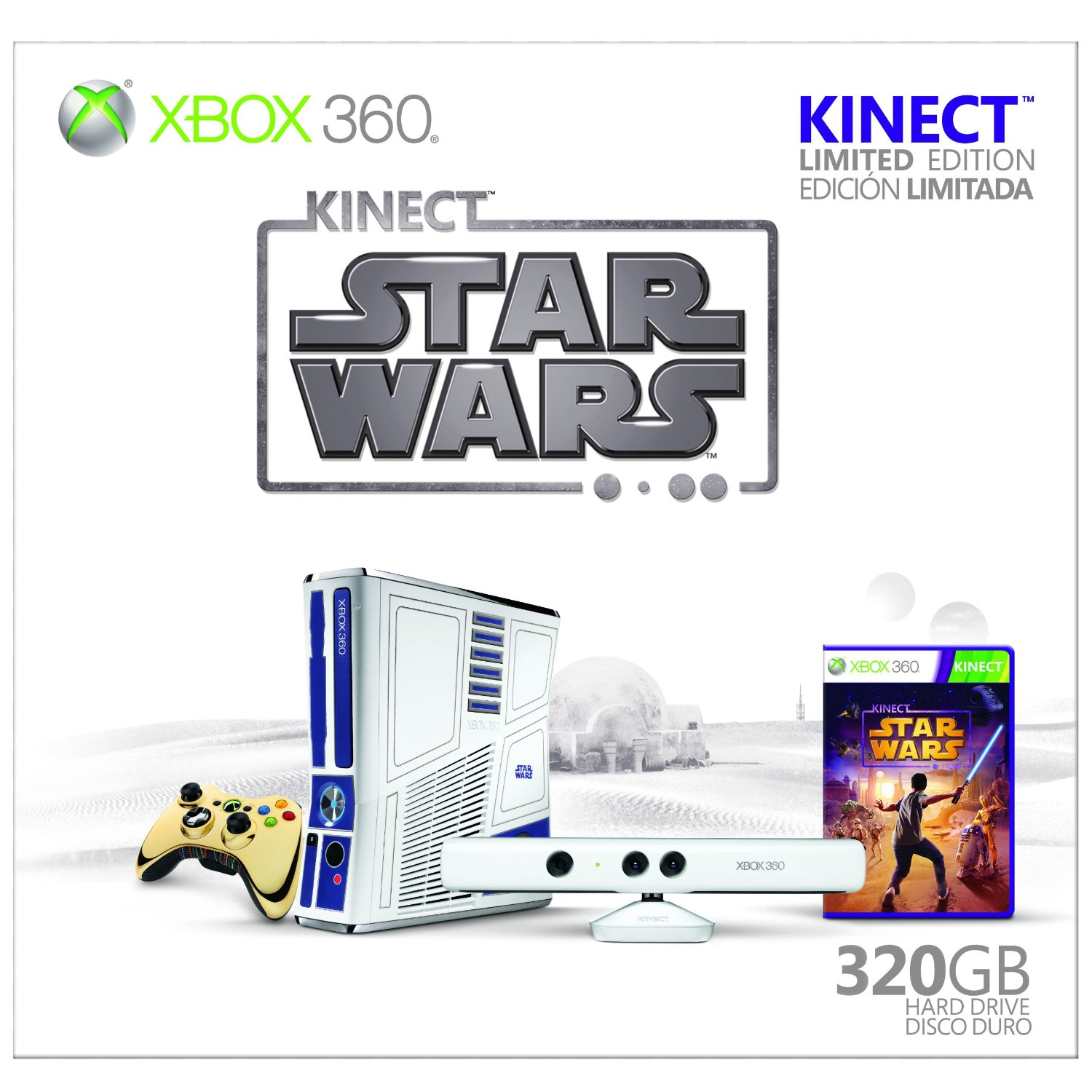 Kinect star wars xbox 360 bundle review and unboxing.