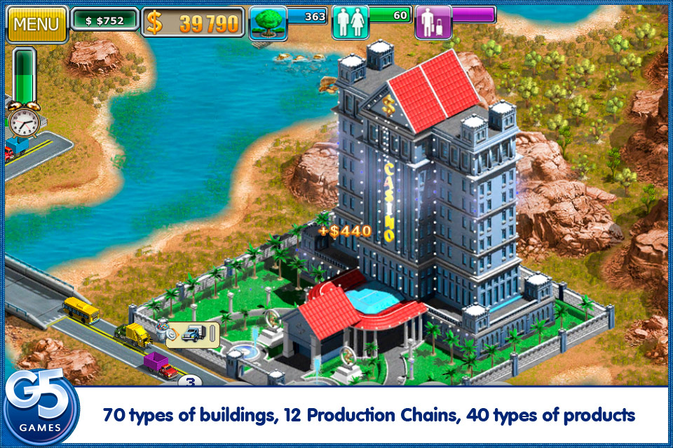 Virtual city 2 paradise resort ios review brutal gamer for Design your own hotel