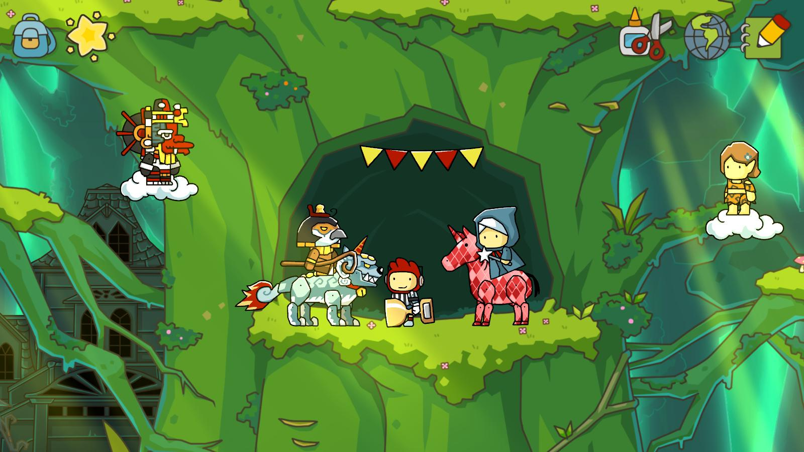 E3 2012: Scribblenauts Unlimited Announced For Wii U And 3DS