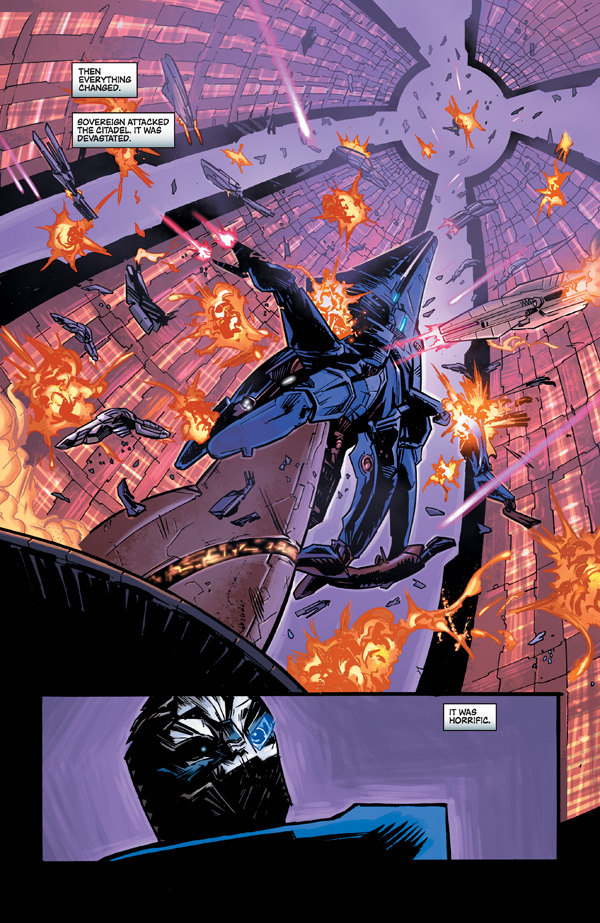 Mass Effect 3 Comics Horse Comics' Mass Effect