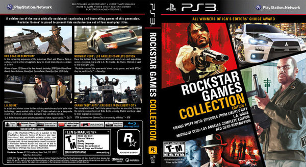 rockstar games collection