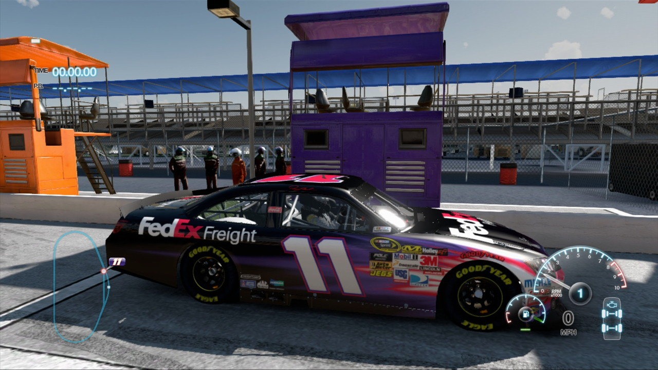 Cars Game: Nascar The Game: Inside Line (Wii) Review