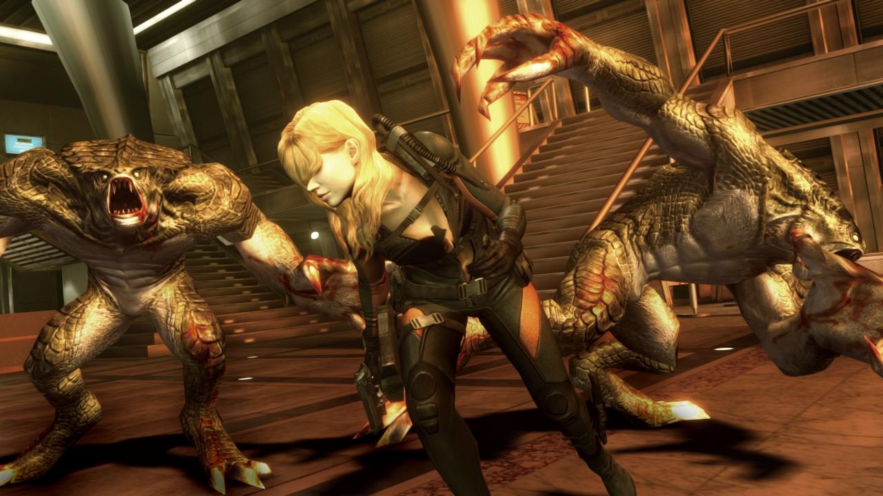 Rachel Stars In The New Trailer For Resident Evil Revelations 1 Reg 3 Brutal Gamer