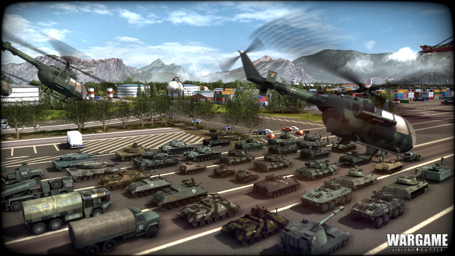 german units roll into wargame airland battle brutal gamer