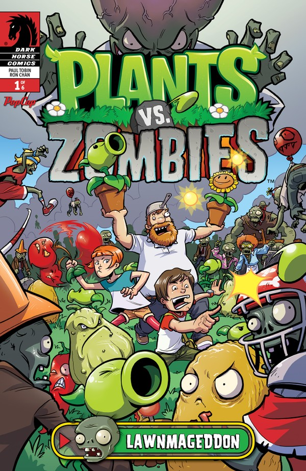 Sdcc Dark Horse To Release Plants Vs Zombies