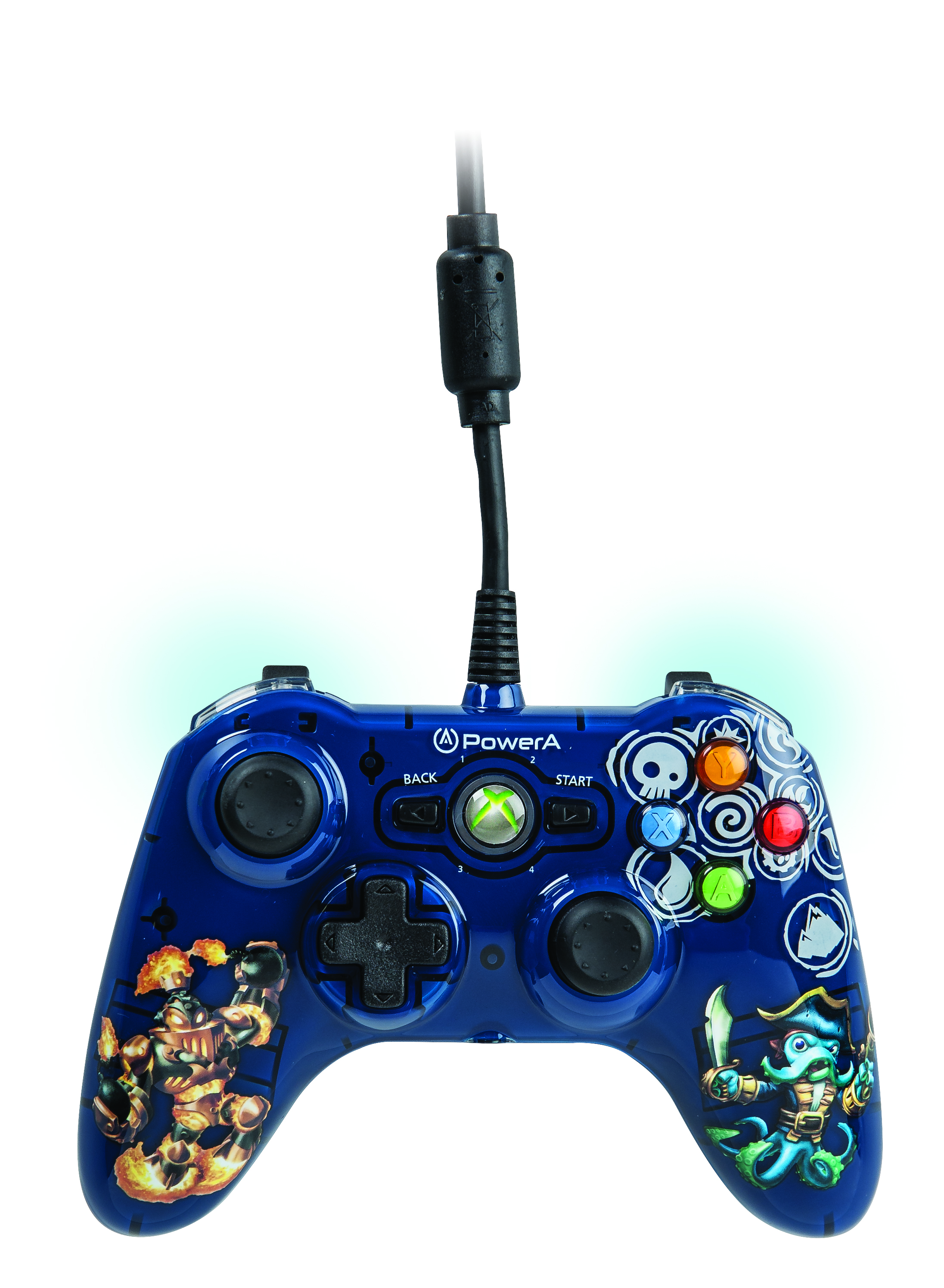 Skylanders SWAP Force Mini Pro EX Wired Controller for Xbox 360 by ...