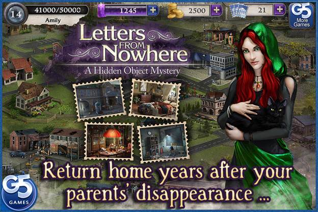 Letters From Nowhere Game Free Online