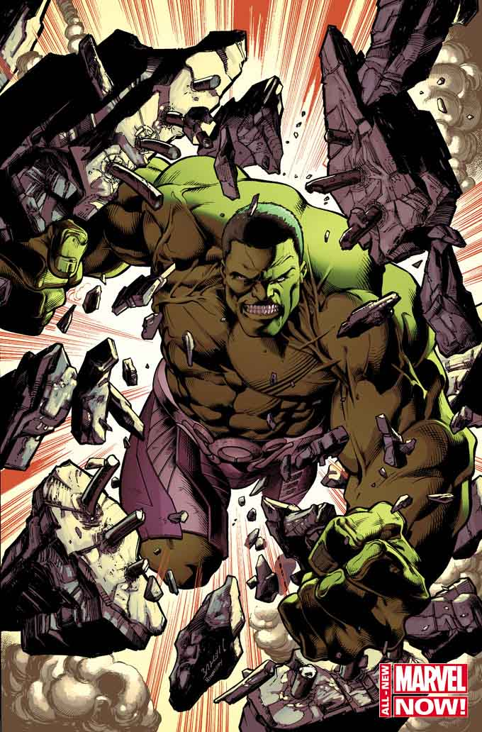 The Incredible Hulk is back in the Marvel Universe, and he's not happy