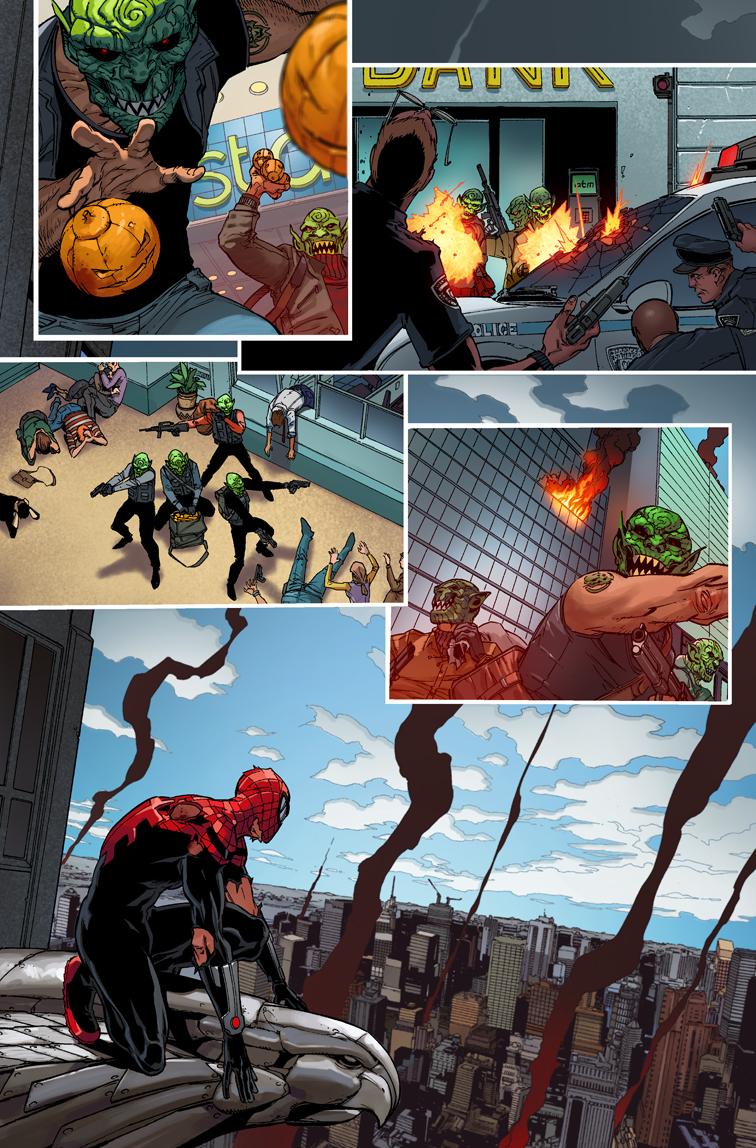 Superior Spider Man 27 Comics Preview Brutal Gamer