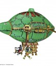 TMNT TF14_Turtle Blimp_Group Shot