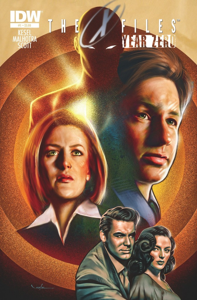 2014 File Photo IDW Comics X-FILES SEASON 10 #4  Subscription Variant Cover
