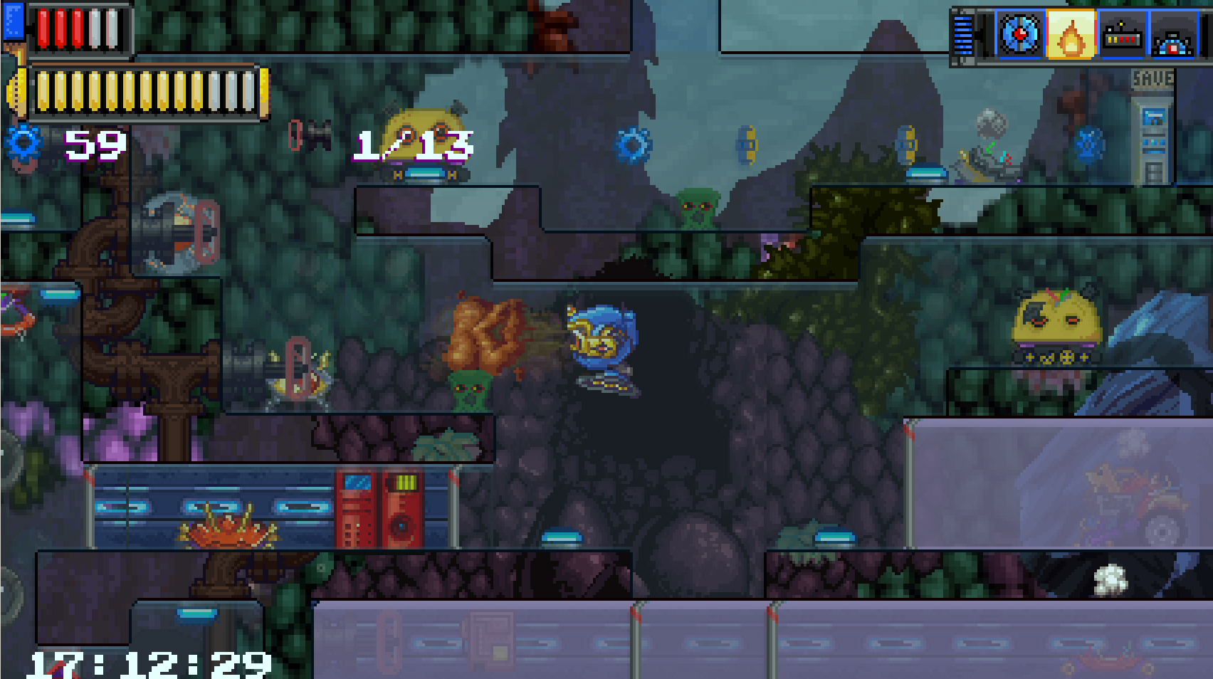 Terrian Saga: KR-17 goes back to the '90s for classic platforming