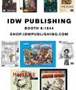 IDW NYCC 2014 offerings