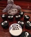 Totoro Cupcakes Courtesy of Lenna Ly
