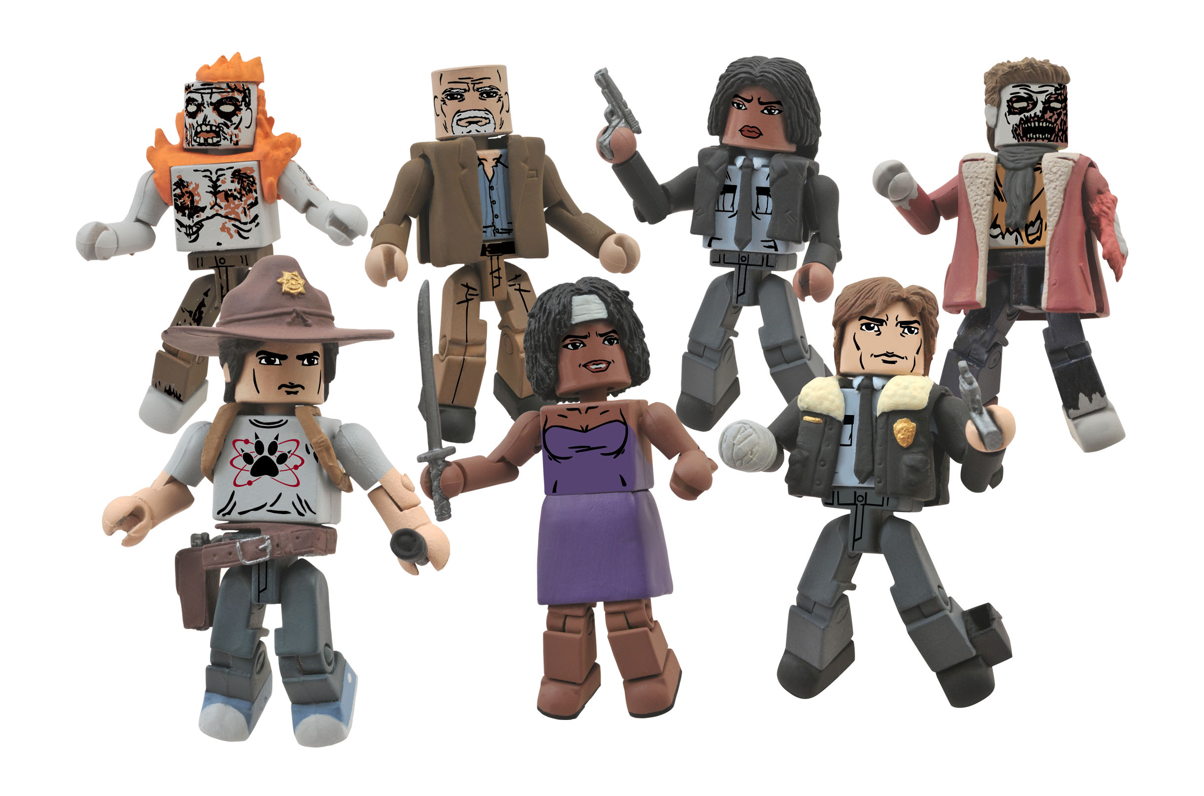 Pulp Fiction Minimates Vincent and Mia/'s Night Out Box Set