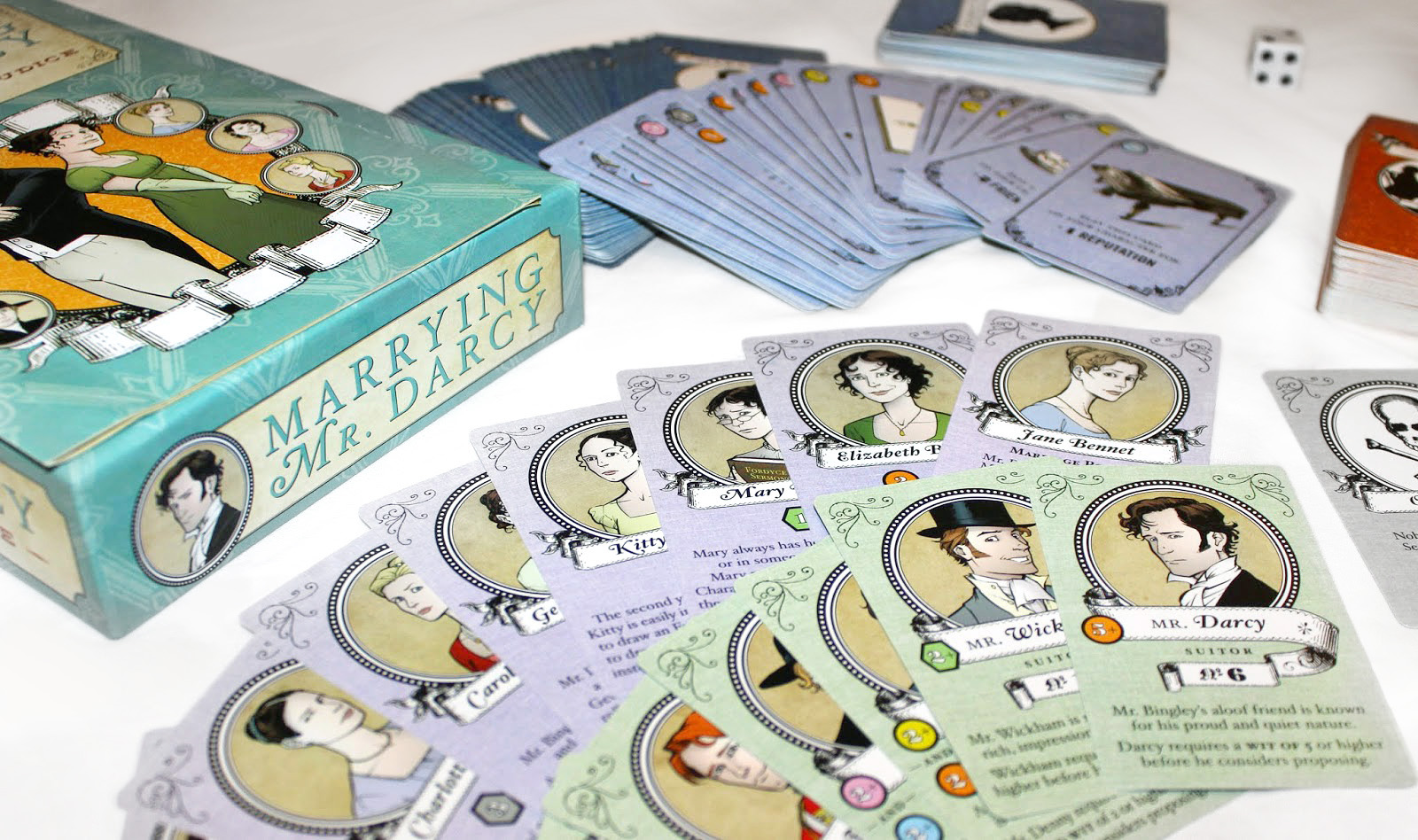 Marrying Mr Darcy  The Pride and Prejudice Board Game interview ...