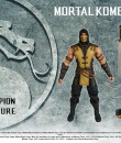 Mezco MKX figures Scorpion