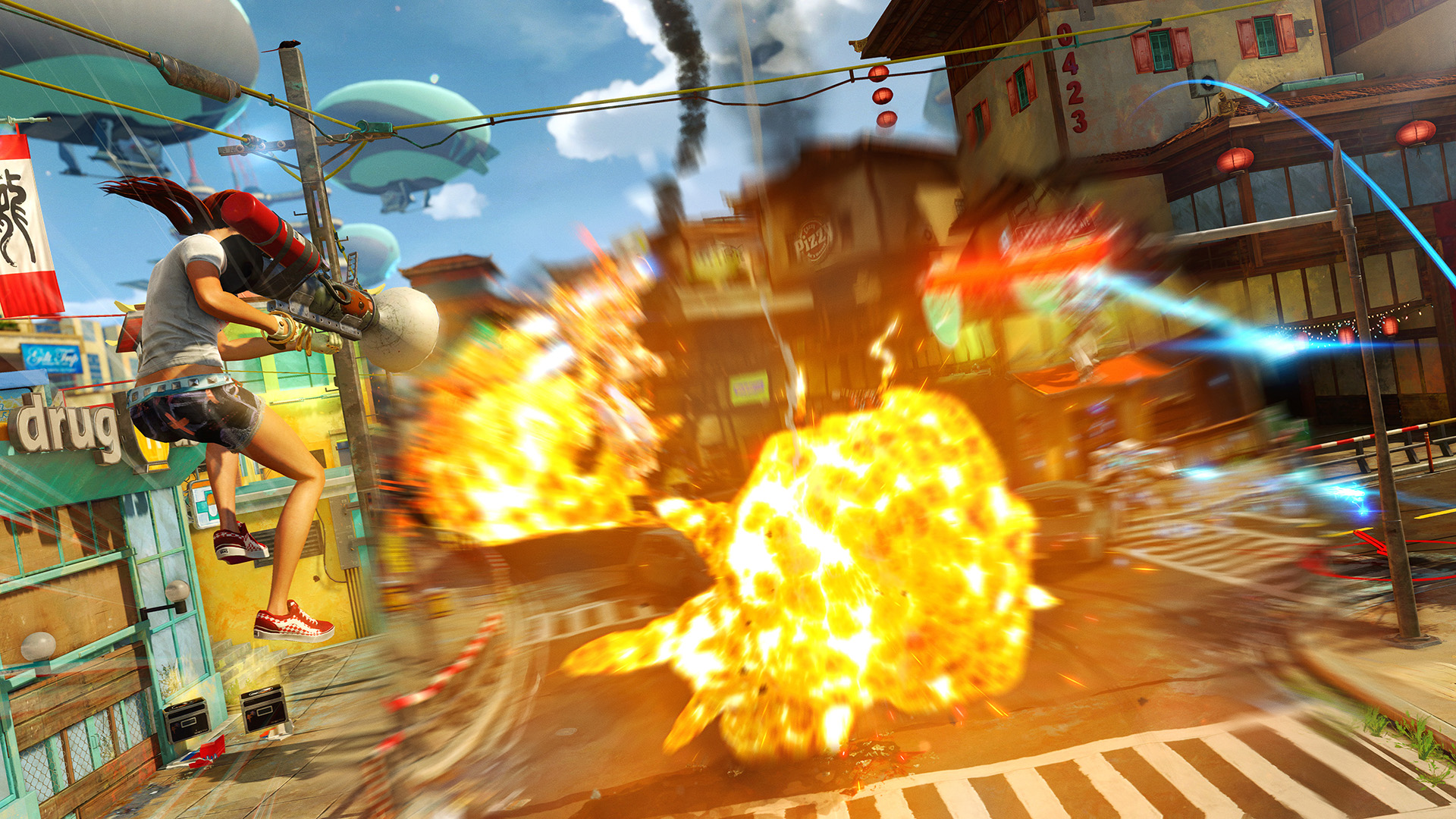 Sunset Overdrive coming to PC, complete with boxed retail edition