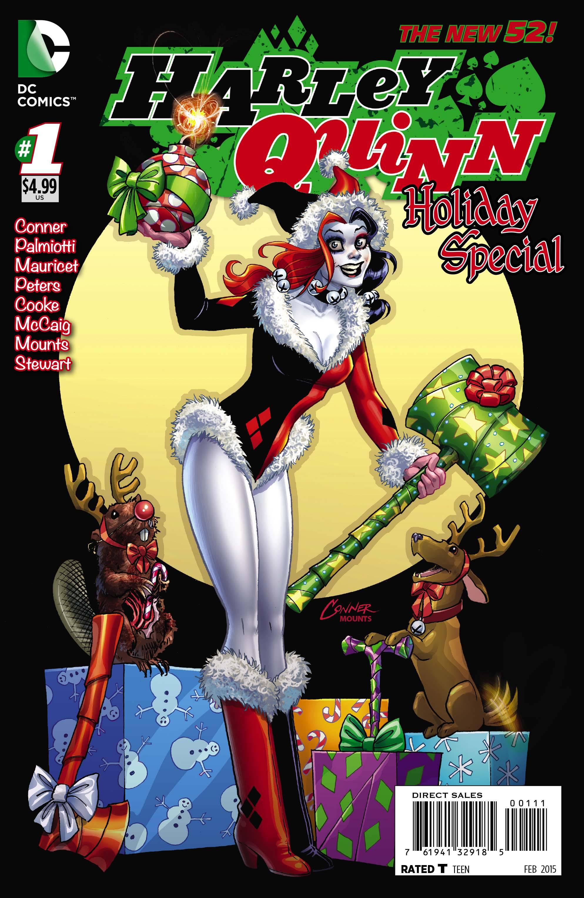 Comic Shop Picks Harley Quinn Celebrates And Some Big