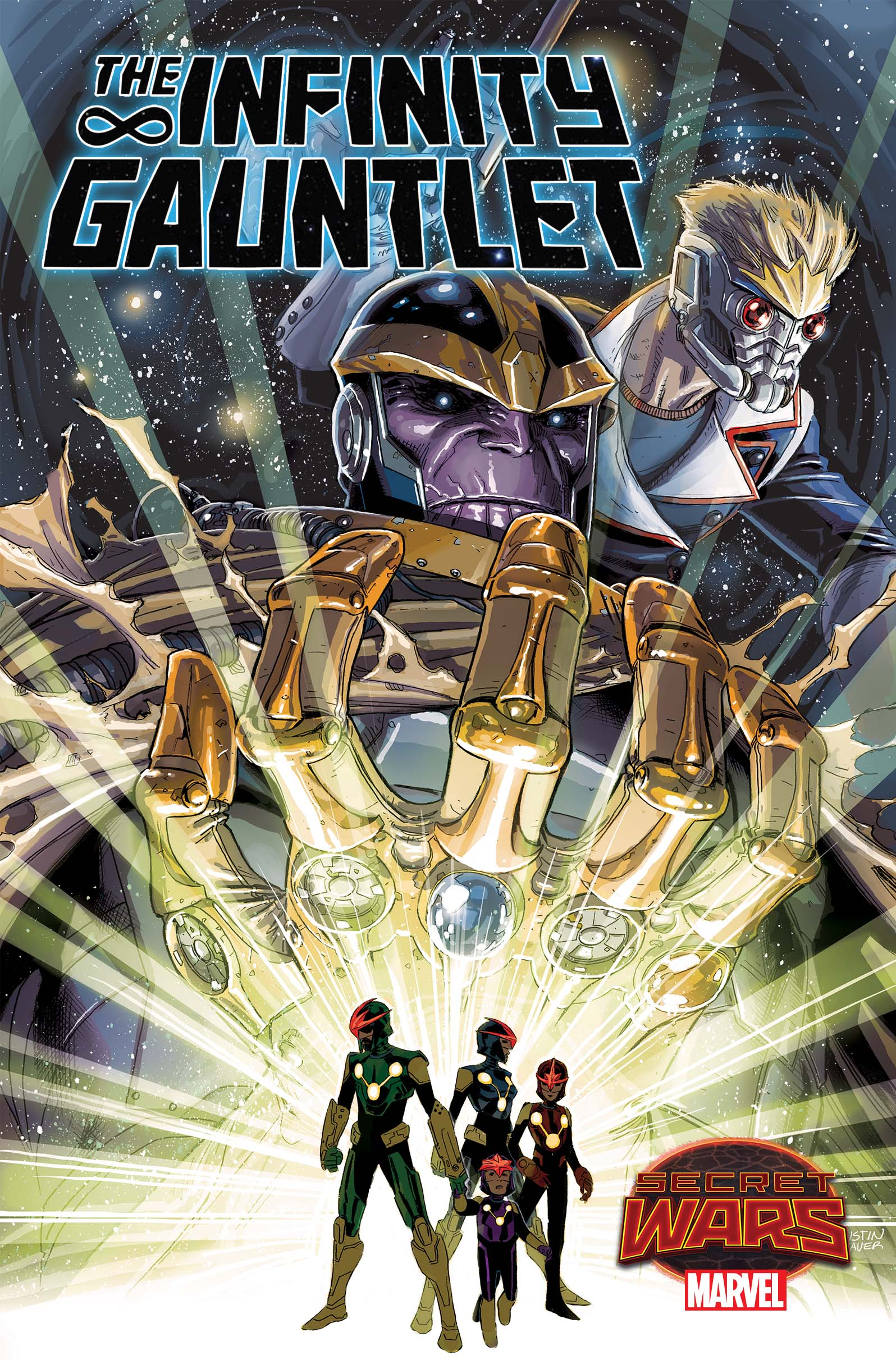 Infinity Gauntlet #1 brings the hunt for the stones to