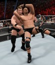 Stone Cold lays a Stunner on WWE 2K15