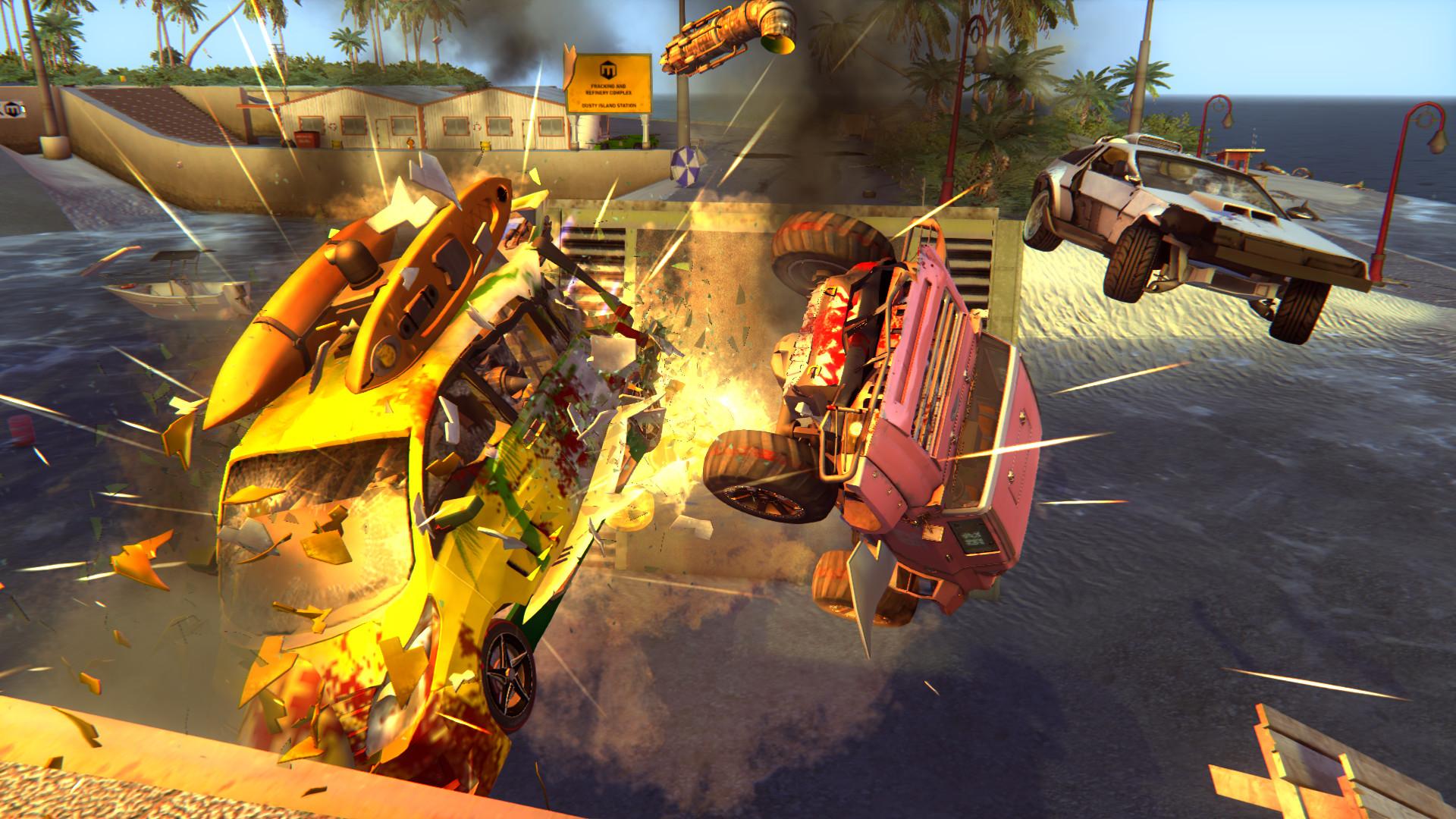 Classic car-combat returns to rip it up in Carmageddon