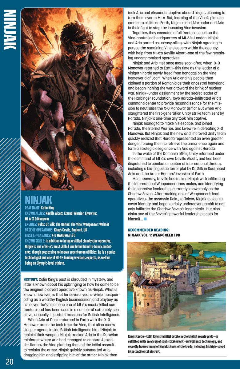 Valiant Universe Handbook #1: 2015 Edition (Comics) Review