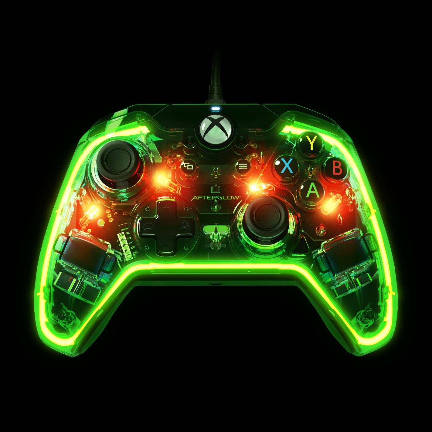 Xbox One rocks out with the Afterglow Prismatic controller | Brutal ...