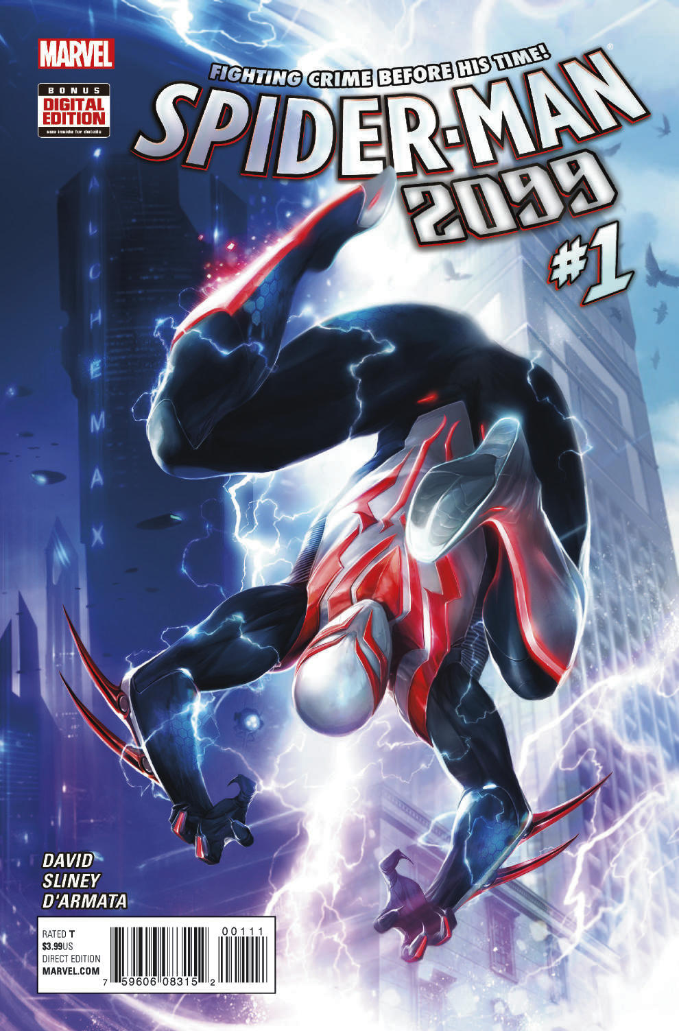 Spider Man 2099 1 Lands Back In The Present Next Month