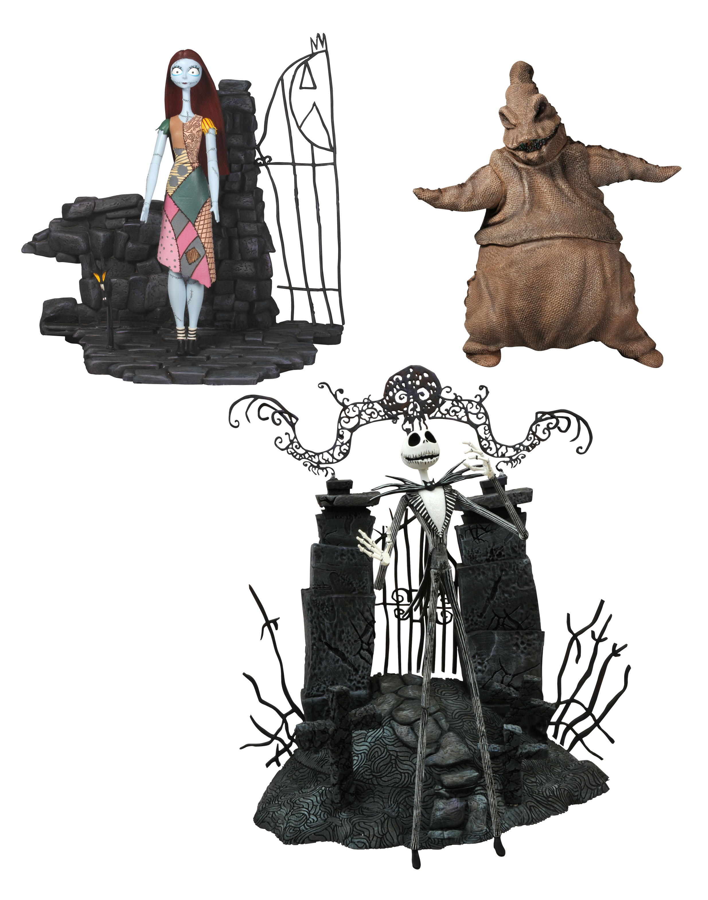 Nightmare Before Christmas toys and more arrive today from DST ...