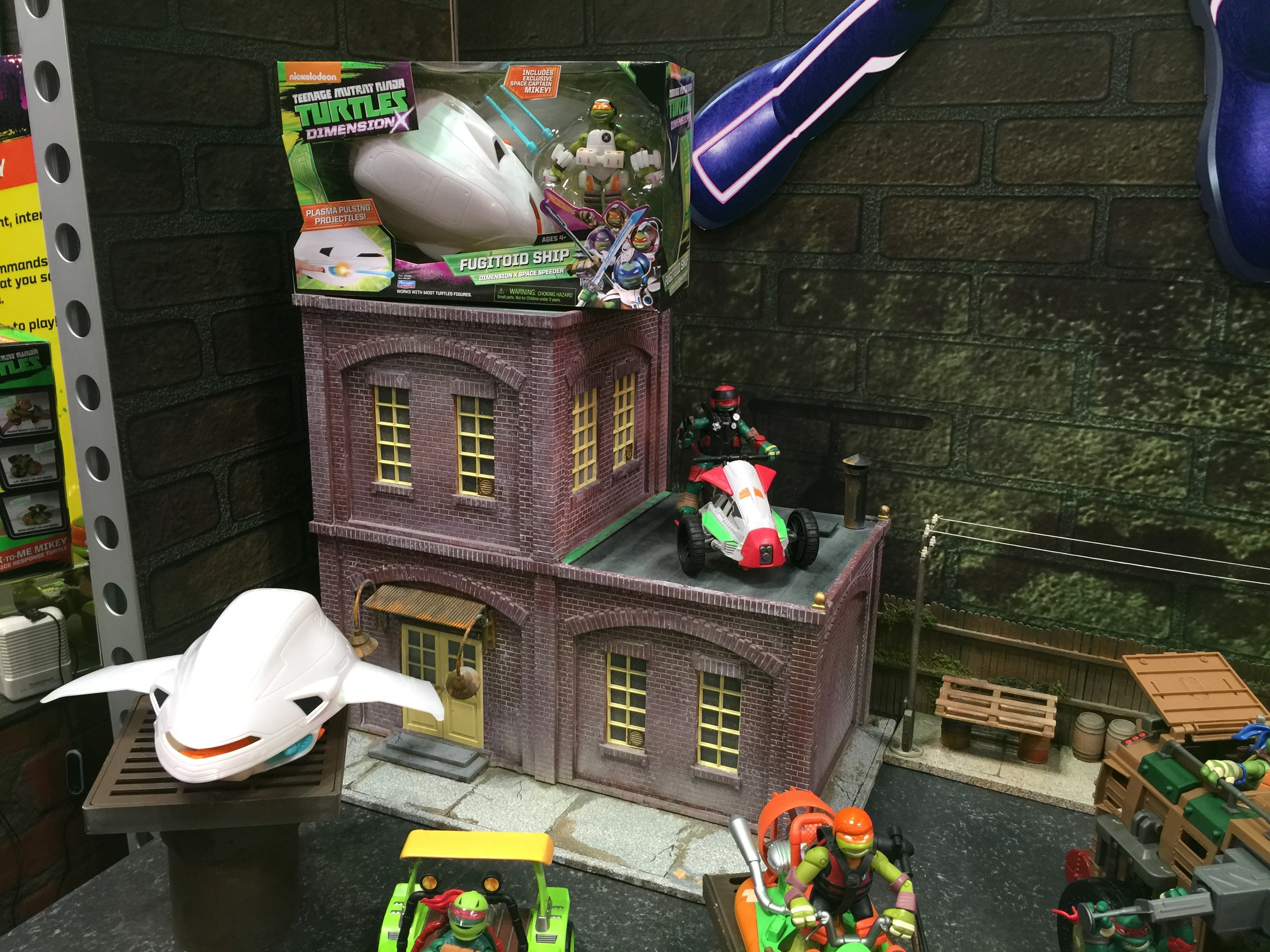 Toy Fair 2016: TMNT are tops at Playmates once again ...