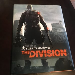 Cover art for The Art of Tom Clancy's The Division