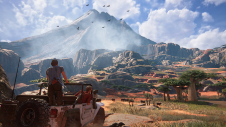 Yes, Uncharted 4 is gorgeous.