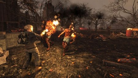 Fight to survive as the zombie hordes take over in 7 Days to Die.