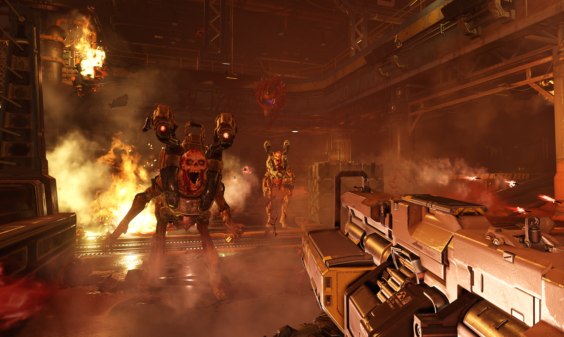 Hell followed DLC now available for Doom