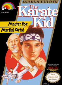 Karate Kid Box art
