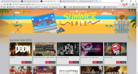 Games Republic Launch PC Gaming Summer Sale!