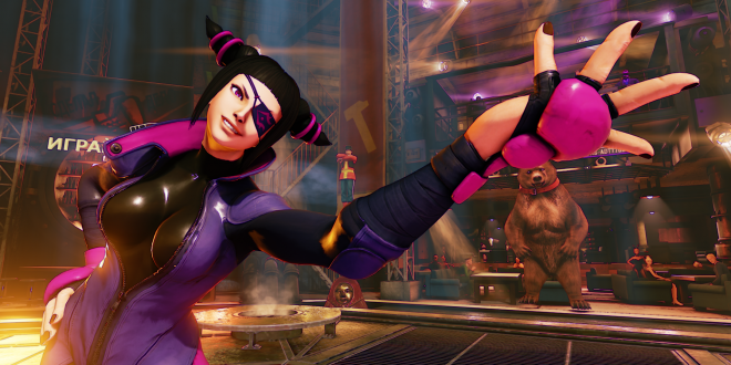 Juri Kicks Into Street Fighter V This July