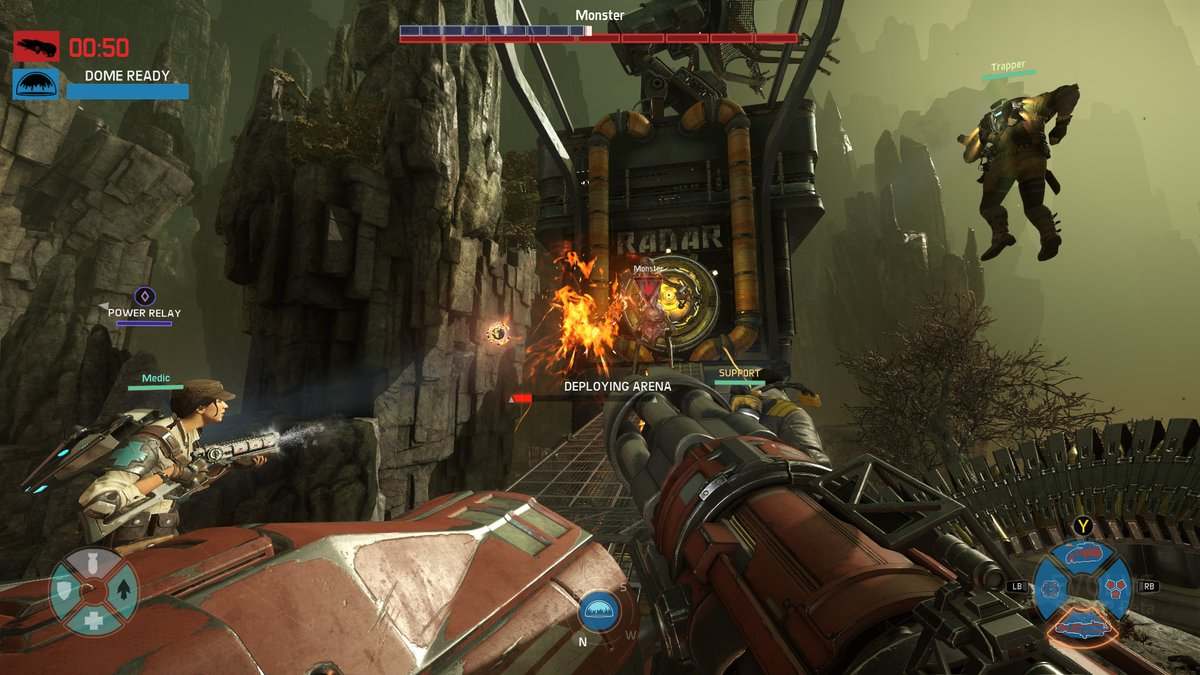 Evolve Stage 2 PC Review Brutal Gamer - Power Relay Evolve