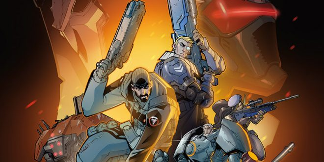 SDCC 2016: Overwatch comics blast to Dark Horse
