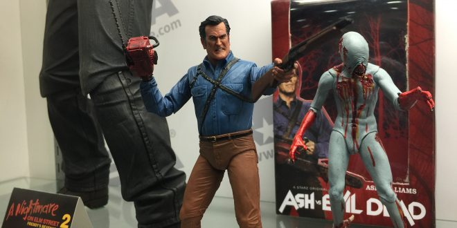 SDCC 2016: Turtles, Aliens, and Evil Dead galore at NECA