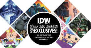 SDCC IDW exclusives