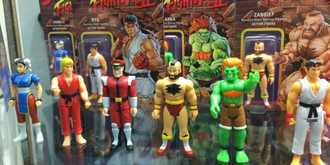 SDCC 2016: Super 7 debuts Street Fighter figures and more