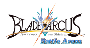 Blade Arcus title screen
