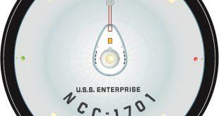 NCC1701 Mouse Pad